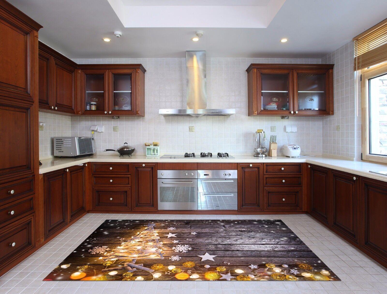 3D Tree Light 6 Kitchen Mat Floor Murals Wall Print Wall AJ WALLPAPER AU Kyra