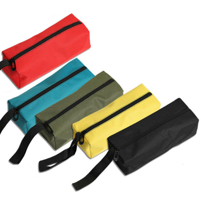 Protable Zipper Storage Tool Bag Pouch Organize Small Parts Hand Tool New