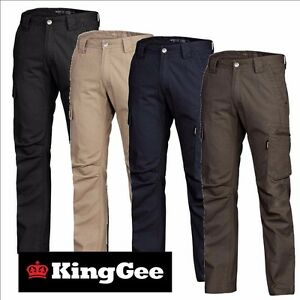 67872becbf7 King Gee NARROW TRADIE PANT 12 pockets NEW STYLE Narrow Fit K13280 ...