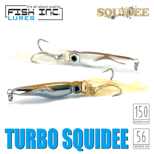 Metal Jig Lure Turbo Squidee Fish Inc