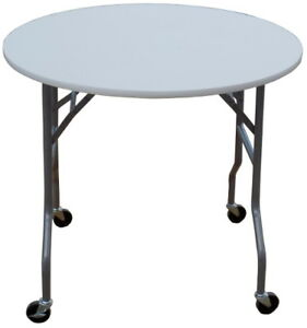 Image Is Loading Banquet Tables Pro 36 034 Round Folding Table