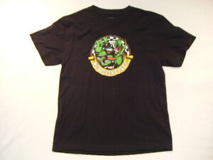 New-MRS-Dezert-Ratz-Racing-Products-T-Shirt-Black-Youth-Large-Motorcycle-Gear-G4