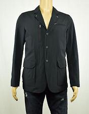TUMI Mens Black Water Resistant Classic Jacket Coat S