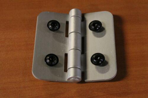 8020 T Slot Aluminum Door Hinge 15 Series 2085 Used w//HW C3-04