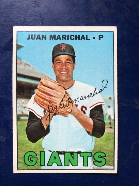 1967 Topps #500 JUAN MARICHAL HOF SF GIANTS AWESOME CENTERING  *FREE SHIPPING*