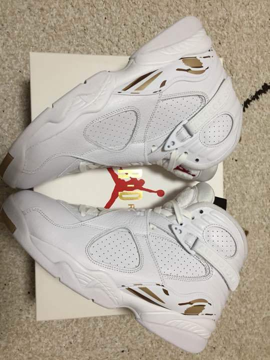 Air Jordan8 OVO WHITE 27cm from japan (5221