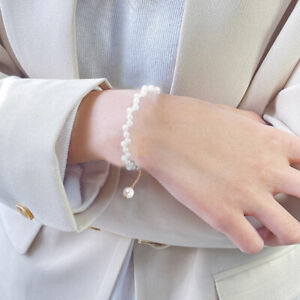 Fashion Charm Armband Natural Sweet Water Pearl Band Frauen Party SchmuckXUI