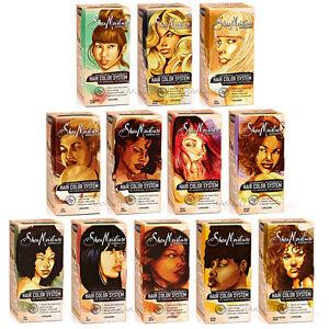 Shea Moisture Nourishing Moisture Rich Hair Color System Permanent Dye Bleach Ebay