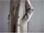Coat Lapel Cashmere Jacket Oversize Outwear Belt Trench Womens Wool Blend Parka