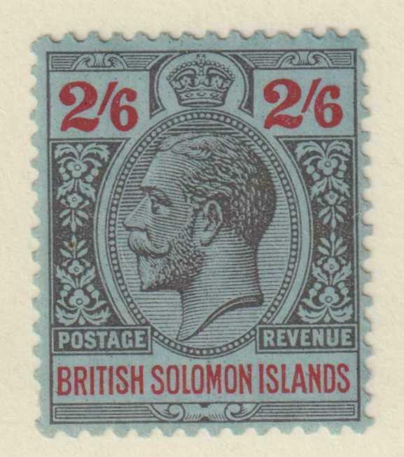BRITISH SOLOMON ISLANDS 54  MINT HINGED OG * NO FAULTS EXTRA FINE!