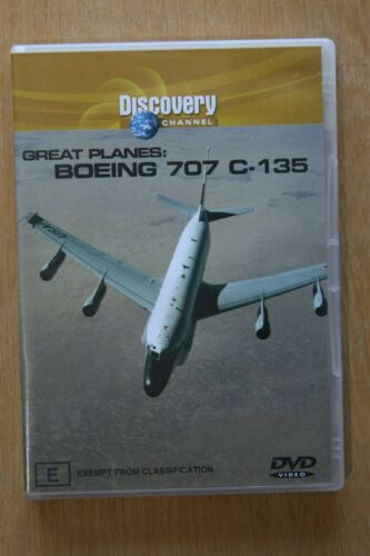 1 of 1 - Great Planes - Boeing 707 C-135 (DVD, 2004)     Preowned (D189)