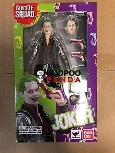 """BANDAI S.H.Figuarts dc comics batman Suicide Squad JOKER 6/"""" action figure"""