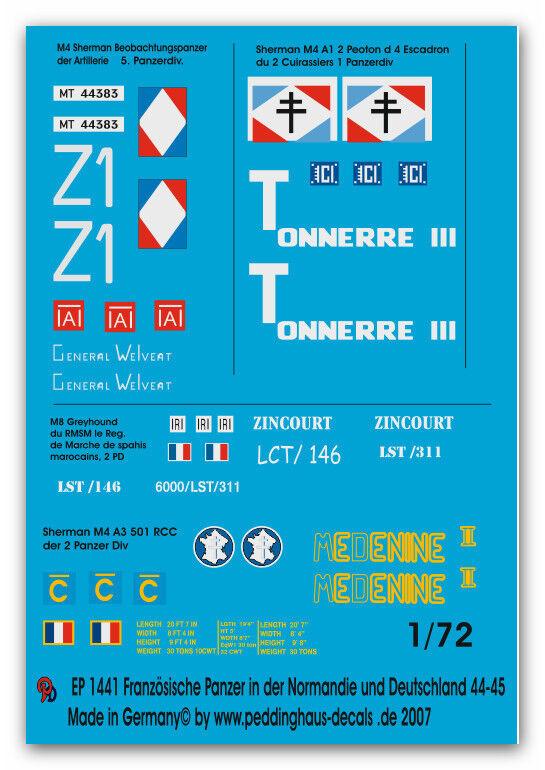 Peddinghaus 1 1 1 72 1441 Francesa PANZER NORMANDÍA Y ALEMANIA 44-45 NO 2 323043