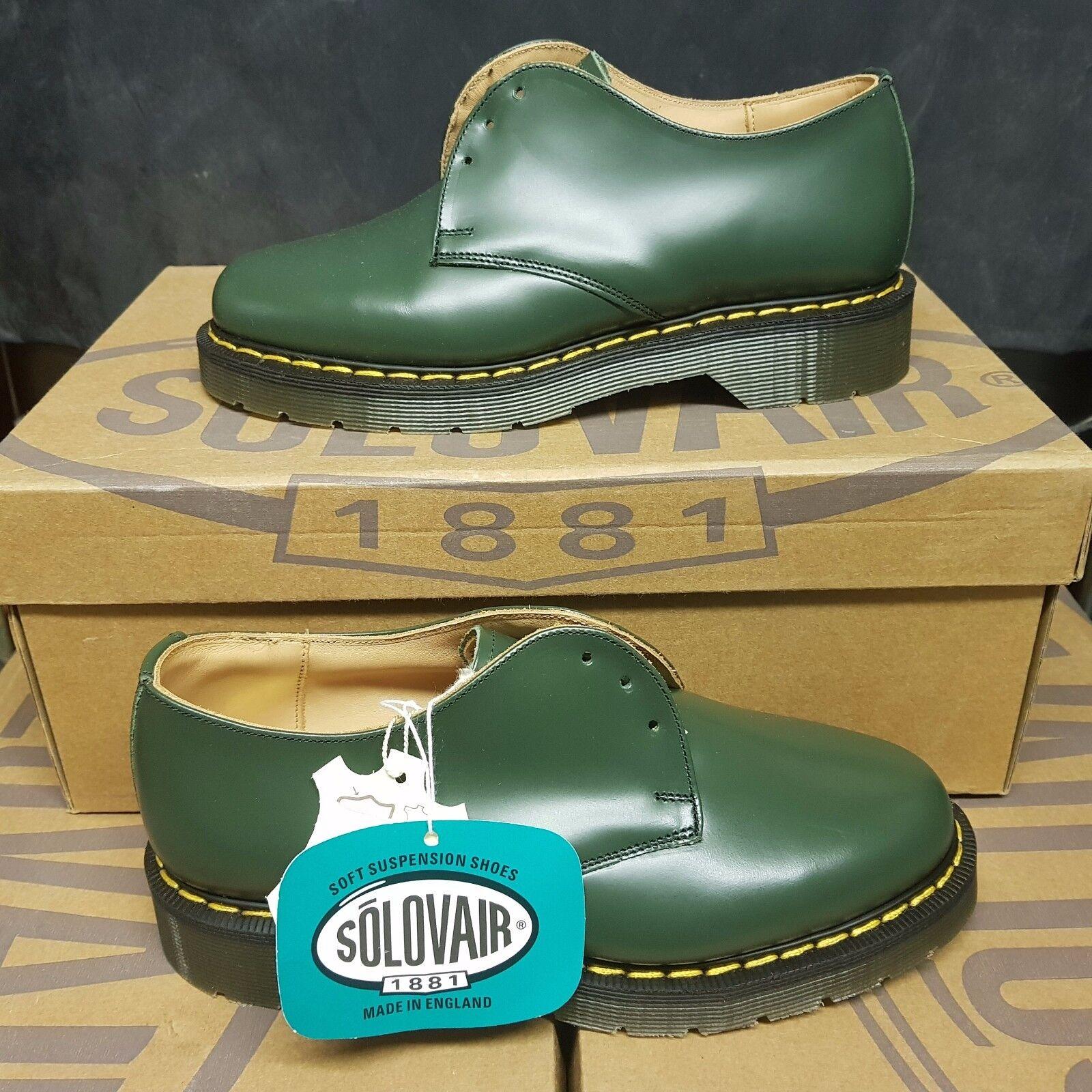 SOLOVAIR 3 Eye hommes femmes chaussures vert UK 3,5 EUR 36 (pv 145£)