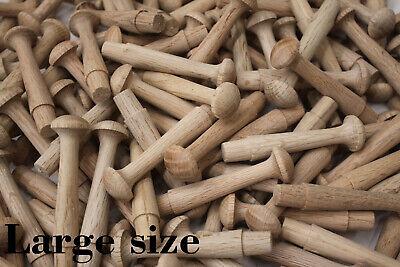 90mm Shaker Pegs x 10s 20s50s100s200s Birch Wooden Shabby Chic Hooks Hangers