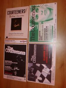 The-Courteeners-live-concert-memorabilia-Scottish-tour-concert-gig-posters-x-4