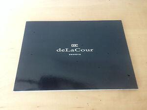 Aggressiv Used In Shop Uhren-katalog Delacour Katalog Uhren Verwendet In Shop