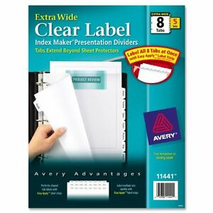 Avery-Index-Maker-Extra-wide-Tab-Dividers-8-X-Divider-Blank-8-Tab-s-set