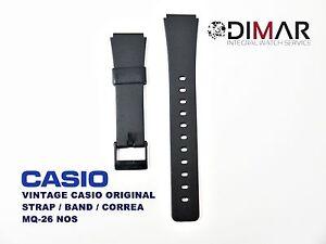 Vintage Casio Original Uhrarmband / Band / Gurt MQ-26 NOS