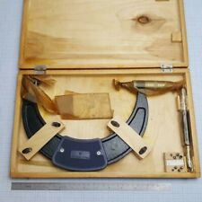 6 Metric ISO60° Pitch inserts USSR *In EU* Screw Thread Micrometer 175-200mm
