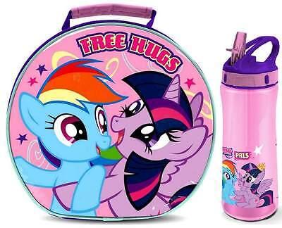 My Little Pony 'Free Hugs' Shaped Lunch Bag/Box and Flip 'n' Flow Bottle (590ml)