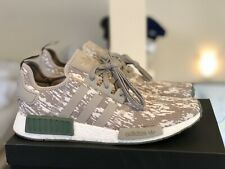 b604d3f4efe9c 2017 Adidas NMD R1 CQ0860 Grey Camo Sesame Trace Green White Ultraboost  Size 11
