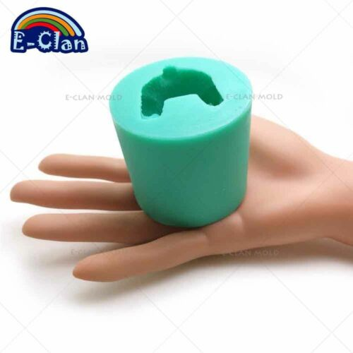 Ours Style DIY Silicone Bougie Moule Pouding Gelée Dessert Chocolat Polymer Clay