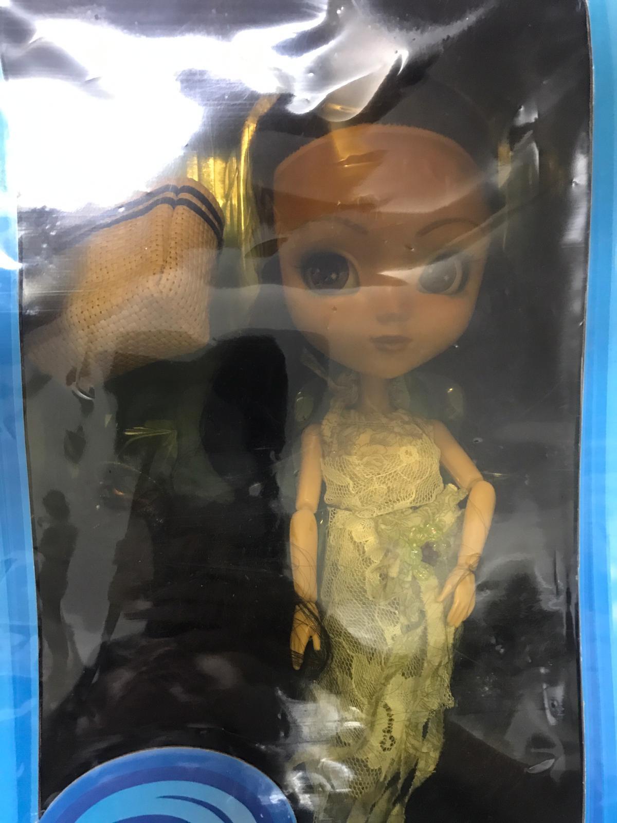 Nuevo Sellado Raro turbonada Pelo Negro Pullip 2003 duro para encontrar la muñeca x1