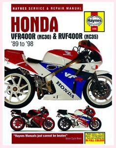 Details about MAN3496 Haynes Workshop Manual for HONDA VFR RVF VFR400 on