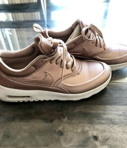 best sneakers de79e f90ed Image is loading WOMEN-NIKE-AIR-MAX-THEA-METALLIC-ROSE-GOLD-