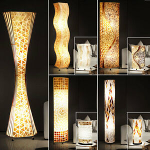 LED-table-recolte-SOL-Loop-Stand-Lampe-mosaique-coquillages-design-tissu-la-vie
