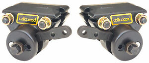 "WILWOOD MECHANICAL SPOT BRAKE CALIPERS,PARKI<wbr/>NG BRAKE,81"" ROTORS"