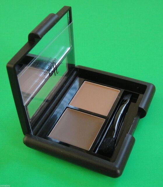 e.l.f. Studio MEDIUM EYEBROW KIT elf Define Full Thick Eye Brow Set Wax Powder