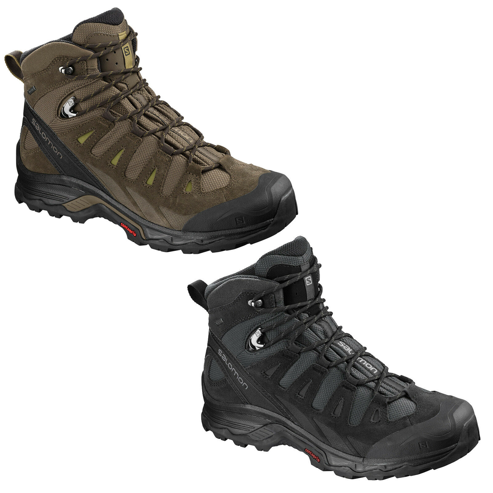 buy popular 73584 98140 Salomon Quest Prime GTX Men s shoes Walking Hiking Boots Boots New