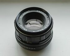 HELIOS-44M-4 58mm 1:2.0 - De-clicked cine mod - SERVICED! - samples
