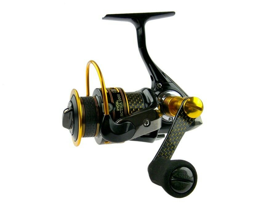 Ryobi Arctica CF   CF1000 - CF4000    carbon handle   front drag spinning reel  top brands sell cheap