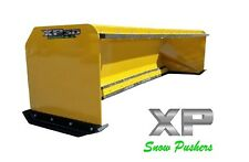 10 Xp30 With Pullback Bar Snow Pusher Boxes Skid Steer Bobcat Local Pick Up