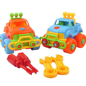 Nice-Christmas-Gift-Kids-Child-Baby-Boy-Disassembly-Assembly-Classic-Car-Toy-SP