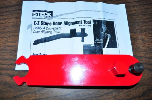 Steck 21845 E-Z Store Door Alignment Tool Bar Made in USA