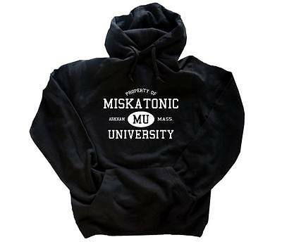 CTHULHU Miskatonic University lovecraft hp Kapuzen-Sweat-Shirt S-XXL