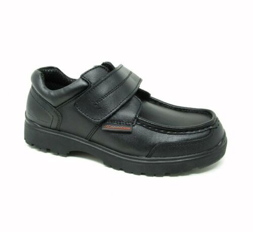 Macadam Garçons Cuir École Chaussures Junior Enfant Noir Formelle BTS School Shoes