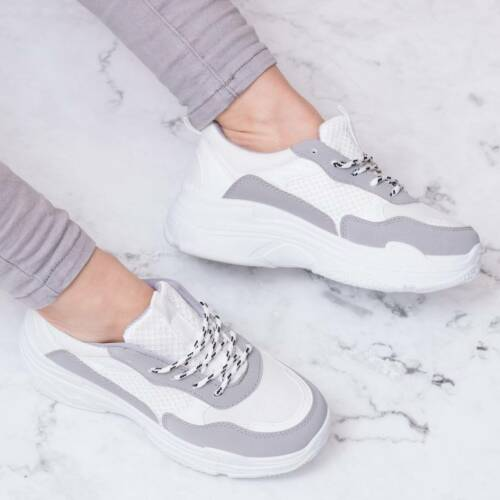 SPYLOVEBUY TOUCAN CHUNKY BLOCK COLOUR TRAINERS SHOES