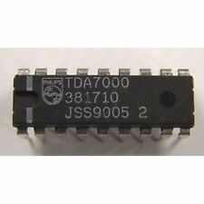 TDA7000 Radio on a chip the original Phillips IC (set of 3 Chips)