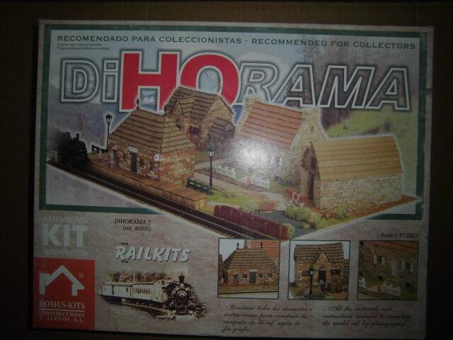 Domus Kit Dihorama 1 87 Diorama train rail