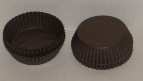#601 Brown Paper Candy Cups 200 Pack Candy Making Supplies CP-16-200 NEW