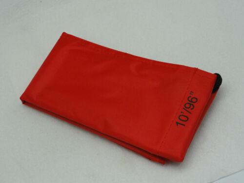 10/' Mâchoires quart Cut Rod Cover for long range Voyage Classique tige rouge
