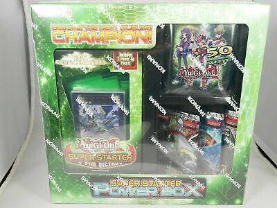 Yugioh cards Super Starter V For Victory Deck SEALED IN HAND!!