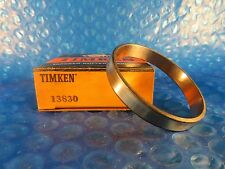 """Timken 13830 Tapered Roller Bearing Single Cup, 2 1/2"""" OD x 3/8"""" Wide, USA Made"""