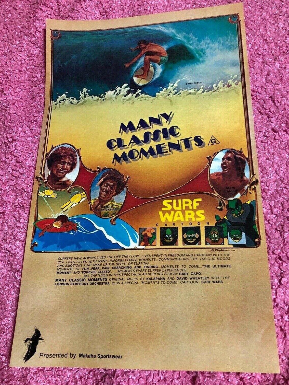 Muchos momentos clásicos Original Surf Cochetel De Cine