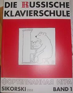 Die-russische-Klavierschule-Band-1-2-oder-Spielband-mit-oder-ohne-CD-039-s